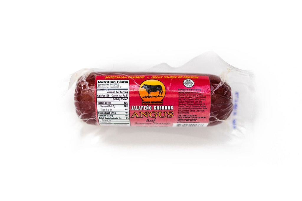 Jalapeño Cheddar Angus Beef Summer Sausage - Jerky Dynasty
