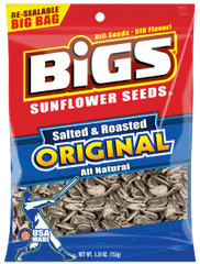 Salted and Roasted Sunflower Seeds