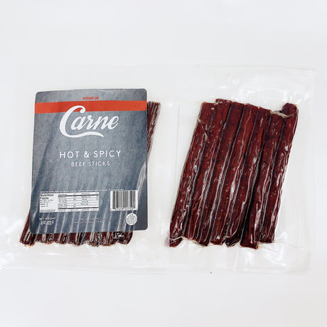 Keto Carne Hot & Spicy - Jerky Dynasty