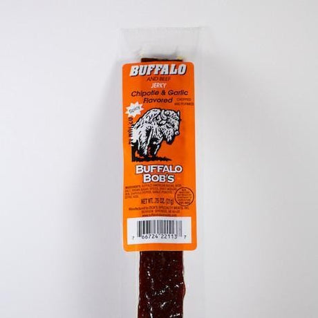 Garlic Chipotle Buffalo Meat Jerky