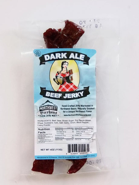 Northwest Bierhaus Dark Ale Beer Jerky/Northwest - Jerky Dynasty