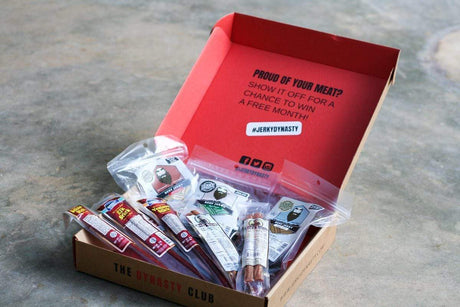 Jerky Dynasty Dynasty Club Subscription Box for Men - Jerky Dynasty