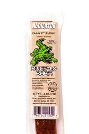 Buffalo Bob's Alligator Cajun Jerky
