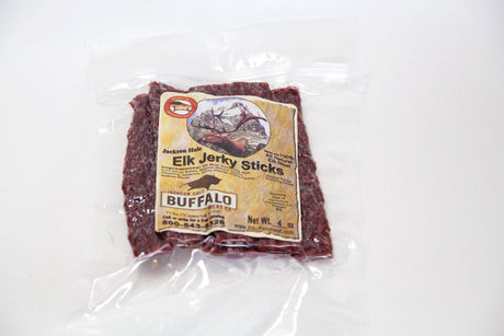 Jackson Hole Buffalo Meat Co. Jackson Hole Elk Jerky Sticks - Jerky Dynasty