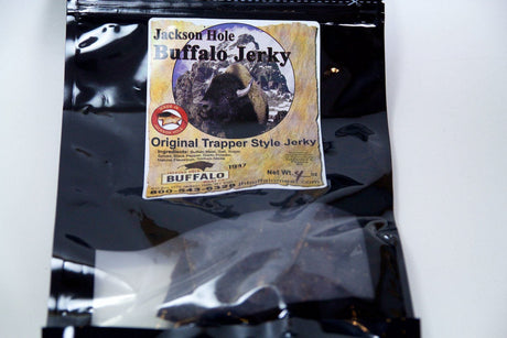 Jackson Hole Buffalo Meat Co. Jackson Hole Original Trapper Style Jerky Buffalo - Jerky Dynasty