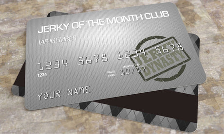 Jerky Dynasty Exotic Jerky Club Membership - Jerky Dynasty