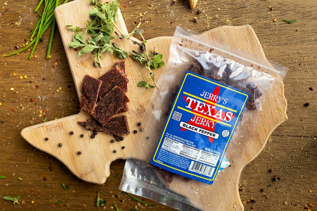Jerry's Texas Jerky Black Pepper Flavor