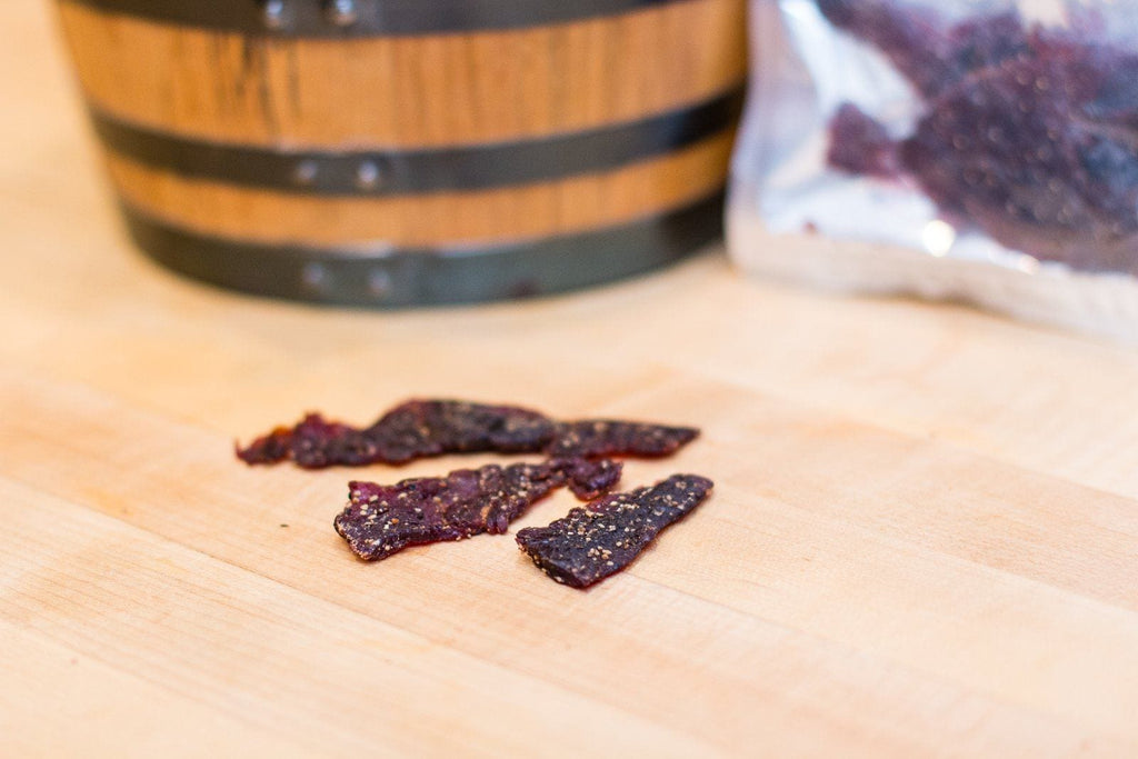 Oak Barrel Jerky Whiskey Rabbit Jerky - Jerky Dynasty
