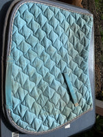 Blue Roma saddle blanket