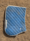 Full blue saddle pad
