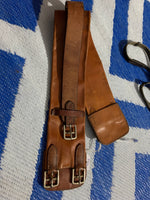 85cm leather girth