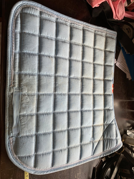 Full size blue Zilco saddle blanket