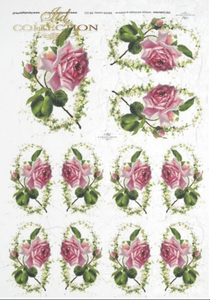 Decoupage Rice Paper - A4 - 1 piece  - 0221