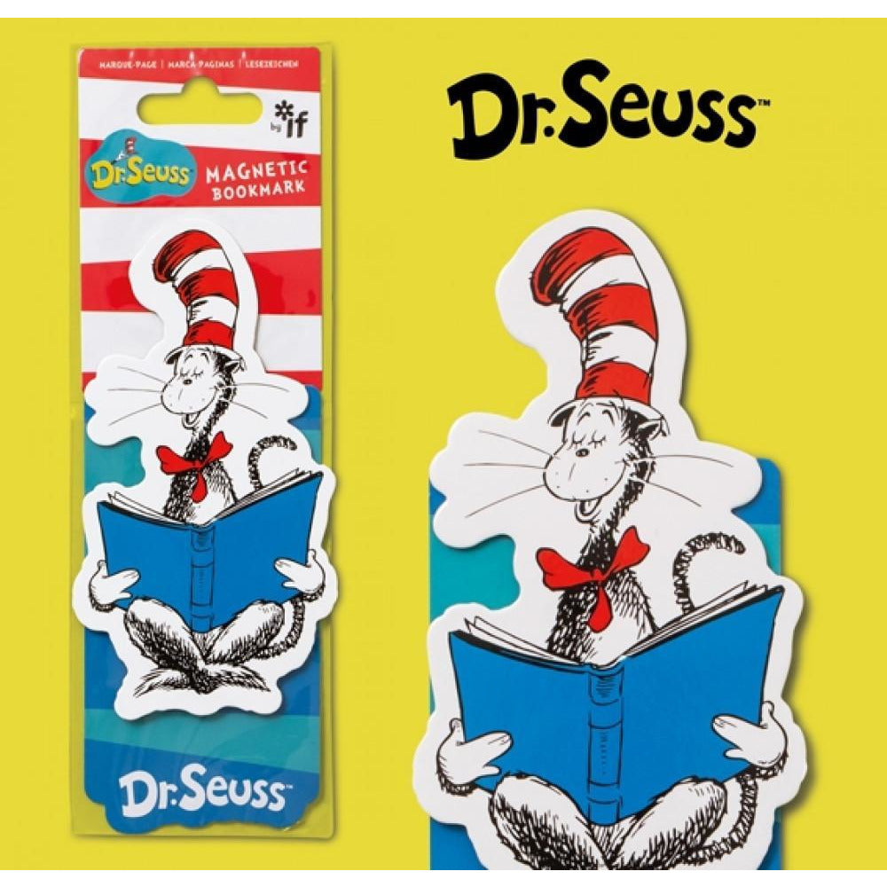 Dr. Seuss - Cat in the Hat Magnetic Bookmark