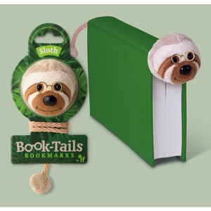 Book-Tails Bookmarks - Sloth