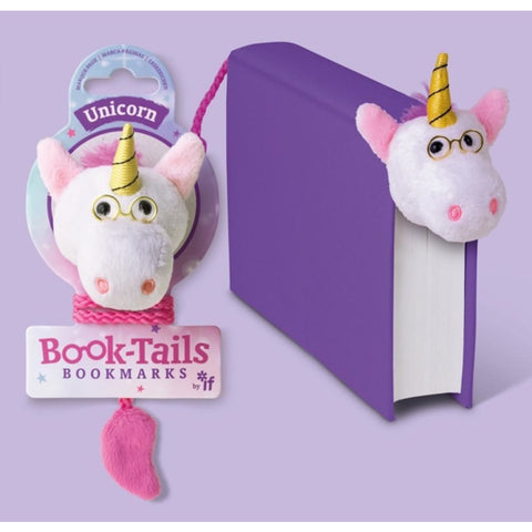 Book-Tails Bookmarks - Unicorn