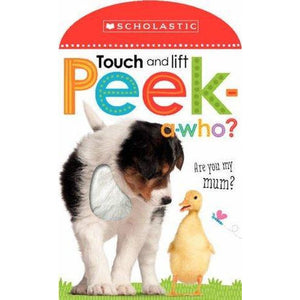 Touch and Lift Peek-a-Who? (Board Book)