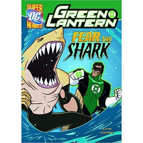Green Lantern Fear the Shark