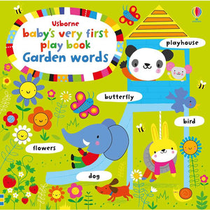 Baby's very first playbook Garden words (Board Book)