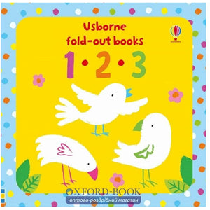 Fold-out books: 123 (Board Book)