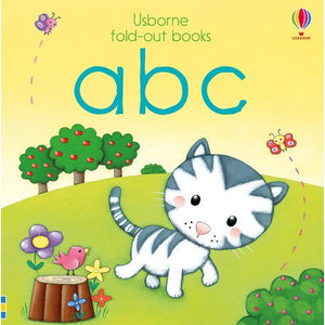 Fold-out books: abc (Board Book)