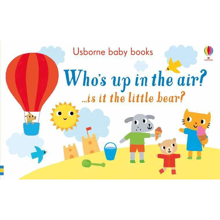 Who's up in the air? ...is it the bear? (Board Book)