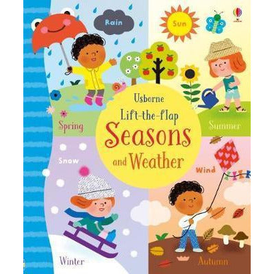 Lift-the-flap: Seasons and Weather