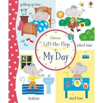 Lift-the-flap: My Day