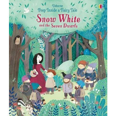 Peep Inside a Fairy Tale: Snow White and the Seven Dwarves (Board Book)
