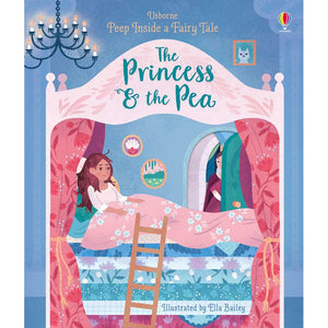 Peep Inside a Fairy Tale: The Princess and the Pea (Board Book)