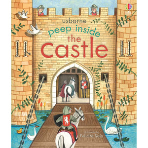 Peep Inside: the castle (Board Book)