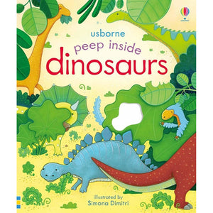 Peep Inside: dinosaurs (Board Book)