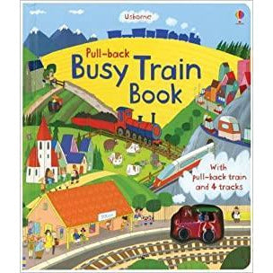 Pull-back: Busy Train Book (Board Book)