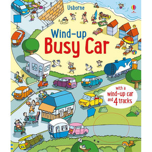 Wind-Up Busy Car (Board Book)