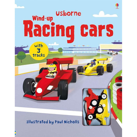 Wind-up: Racing cars (Board Book)
