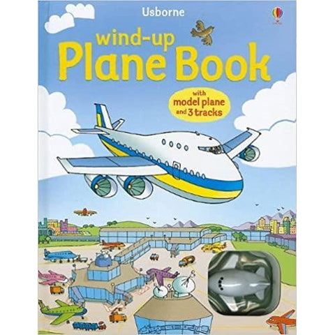 Wind-up: Plane Book (Board Book)