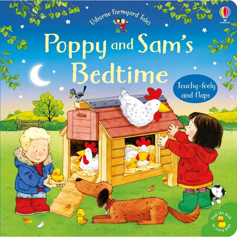 Farmyard Tales Poppy and Sam's: Bedtime (Board Book)