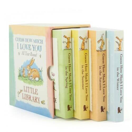 Guess How Much I Love You (Little Library) (Board Book)- Spring, Summer, Autumn, Winter
