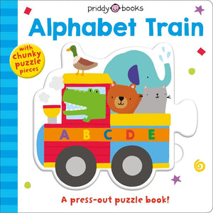 Puzzle and Play: Alphabet Train (Board Book)