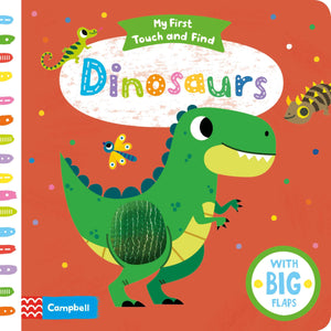 My First Touch and Find Dinosaurs (Board Book)