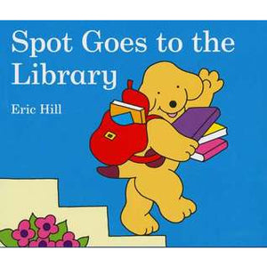 Spot Goes to the Library (Board Book)