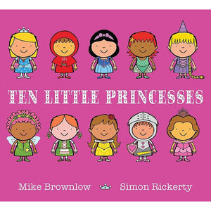 Ten Little Princesses (Board Book)