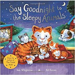 Say Goodnight to the Sleepy Animals (Paperback)