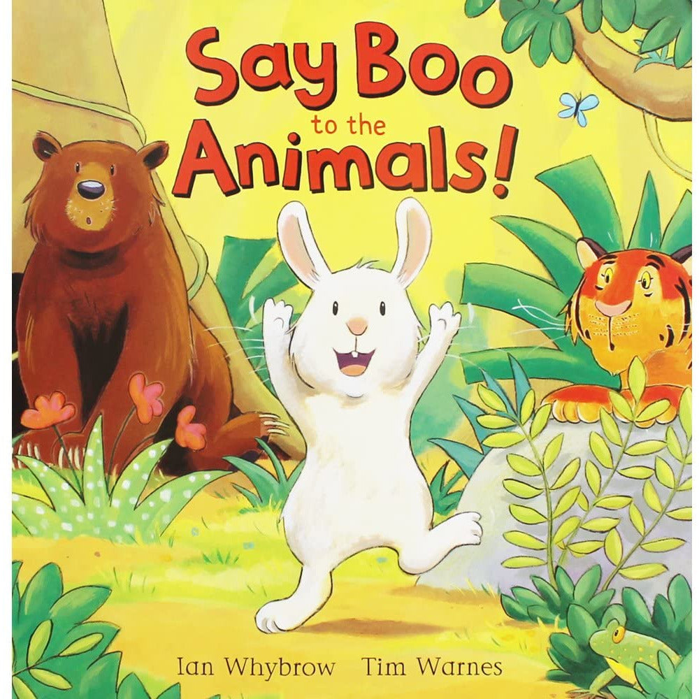 Say Boo to the Animals! (Paperback)