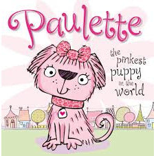 Paulette the Pinkest Puppy in the World