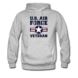 US Air Force Veteran Men's/Unisex Hoodie - heather gray