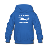 US Army Blackhawk Kids' Hoodie - royal blue