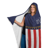 We The People Hoodie Blanket
