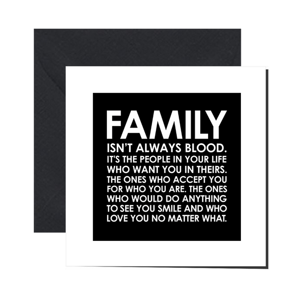 Greeting Card - FAMILY - Let's Be Frank Australia