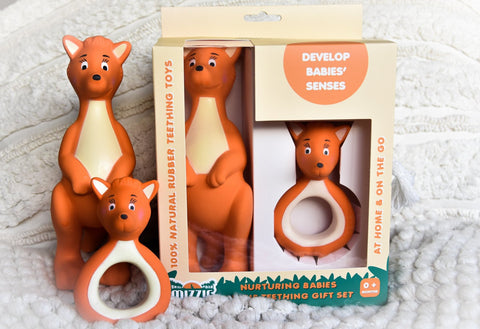 MIZZIE TEETHING GIFT SET